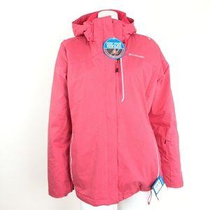 Columbia Womens XL Pink Omni heat Lined Jacket